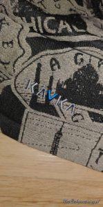 nosidełko regulowane KAVKA z chusty Sensimo Slings Adventure