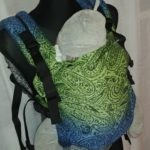 kavkababy hinda hedera zielono niebiesko szara